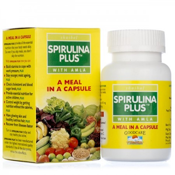 Спирулина плюс (Spirulina plus) 60 таб