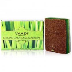 Скраб-мыло «Заманчивая лимонная трава» (Vaadi) 75г