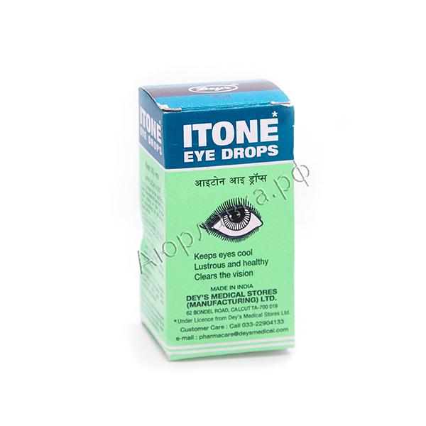 Аюрведические глазные капли Айтон (Itone Eye Drops, India) 10 мл