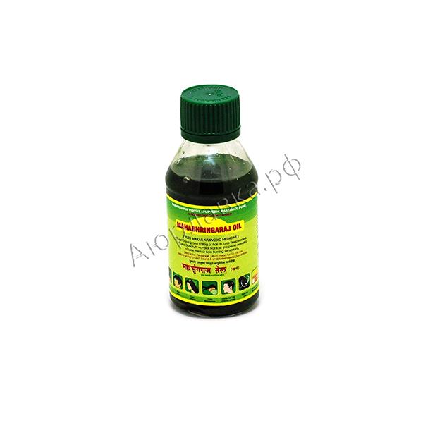 Масло Махабрингарадж (Mahabhringaraj Oil, Pure Maka's Ayurveda)
