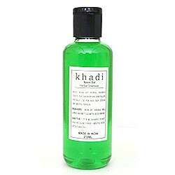 Шампунь c Ним и Сат (Herbal shampoo with Neem & Sat, Khadi) 210