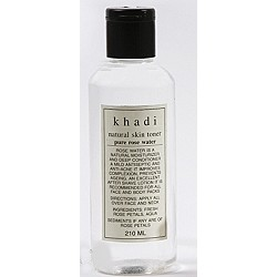 Розовая вода (Natural Skin Toner with Pure Rose water, Khadi) 20