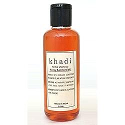 Шампунь с Медом и Маслом Миндаля (Herbal shampoo, Khadi ) 200 мл